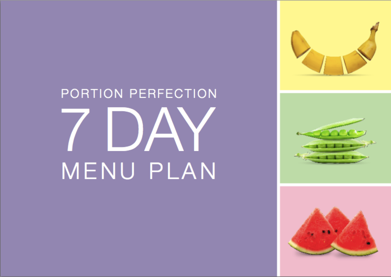 Free Weight Loss Menu Plan Download